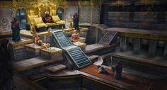 throne room by lafemmedart218.deviantart.com on @deviantART