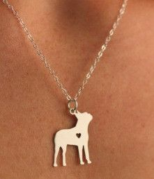 You love your Boston Terrier. Show it with this beautiful necklace. Available in…