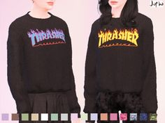 jupho's Thrasher Magazine - Hoodie - mesh needed