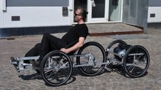 Danish design studio N55 has created a series of open-source human-powered vehicle designs that can be built at home.