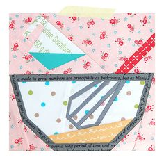 Baking set by Ayumi Paper Pieced Quilt Patterns, Quilt Block Patterns, Quilt Blocks, Quilting Projects, Quilting Designs, Sewing Projects, Foundation Paper Piecing, Farm Quilt, Mini Quilts