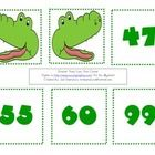 Students will use the Greater Gator to locate the greatest number in this hands on center....
