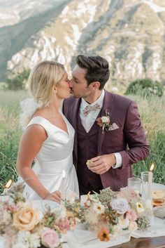 Spring Picnic Wedding in the South of France... Creative Direction: Danni Wing Events | Floral Design: Dandelions and Grace | Dress Designer: Goldleaf Finish | Suit: Keitel Cannes | Make-up & Hair: Allure Make-up | Photography: Visuals By Abbi | Jewellery: l'Atelier Français Intimate Wedding Ceremony, Outdoor Ceremony, French Wedding Style, Crystal Champagne, Groom Wear, Dandelions, South Of France, Bridal Looks, Wedding Shoot