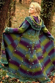 I don't where to get this technicolor coat but it's awesome.