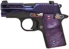 Sig Sauer P238 380acp Pistol Purple Slide 2.7in 6rd - $604.99 + Free Shipping   Slickguns