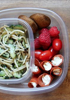 5 Healthy Lunchbox lunches