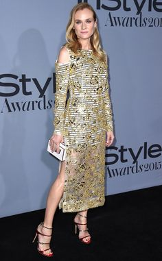 Diane Kruger from Stars at the 2015 InStyle Awards | E! Online
