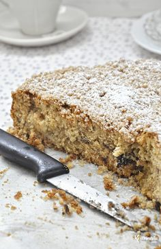 Νηστίσιμο κέικ με χαλβά και μήλο / Vegan apple halva cake Greek Desserts, Greek Recipes, My Favorite Food, Favorite Recipes, Sweet Cooking, Cake Bars, Gluten Free Cakes, Healthy Treats, Healthy Recipes
