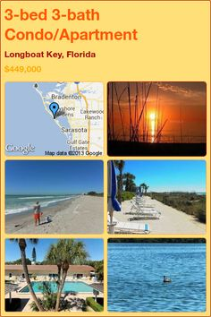 3-bed 3-bath Condo/Apartment in Longboat Key, Florida ►$449,000 #PropertyForSale #RealEstate #Florida http://florida-magic.com/properties/6745-condo-apartment-for-sale-in-longboat-key-florida-with-3-bedroom-3-bathroom