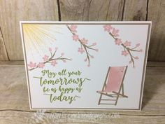 Colorful Season, Whereever You Go, Stampin'Up!