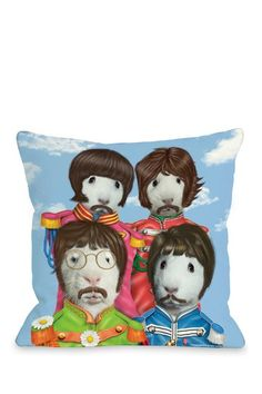Furry Four Decorative Pillow by Non Specific on @HauteLook