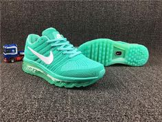 Best Nike Air Max 2017 Gree White for Women Sale Hot - $69.89