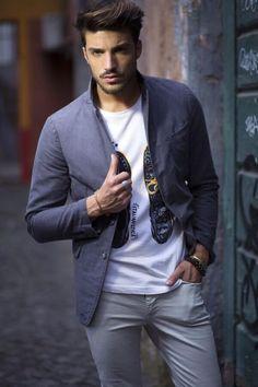 Mariano Di Vaio blazer and t-shirt
