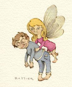 Sleep Fairy, Sergio Ruzzier.