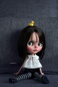 Cute Baby Dolls, Cute Babies, My Doll House, Colourful Outfits, Doll Face, Big Eyes, Blythe Dolls, Fashion Dolls, Black Hair