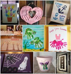 Hand and Footprint Art Ideas for You to Try