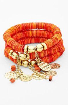 Schmuck in Orange (Farbpassnummer 33) Kerstin Tomancok / Farb-, Typ-, Stil & Imageberatung