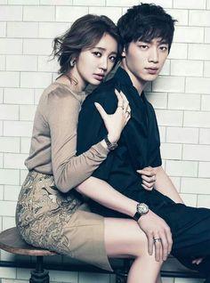 Yoon Eun Hye and Seo Kang Joon