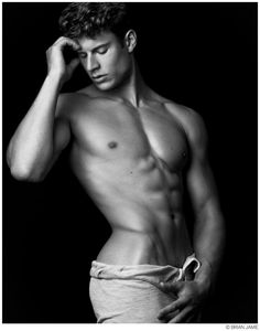Eian Scully Hits the Studio with Brian Jamie image Eian Scully 2014 Model Photo 008 800x1017