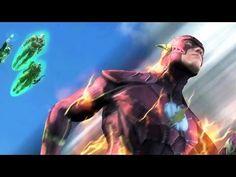 [Injustice : Les Dieux sont Parmi Nous] sur PS4 est un jeu de baston réunissant plusieurs personnages (héros et vilains) de l'univers DC Comics. Batman, Superman, Harley Quinn, Wonder Woman, Solomon Grundy, Flash et d'autres se battent en duel dans des combats très dynamiques.