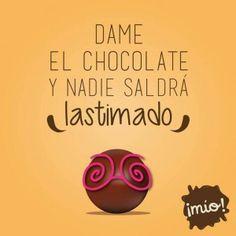 Frases divertidas acerca del chocolate (3)