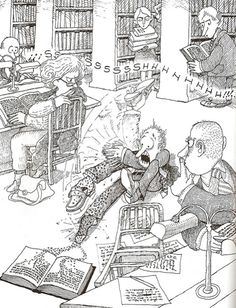 Everything & Nothing: Quino - ¡Yo no fui! Everything And Nothing, Humor Grafico, Cool Cartoons, Cartoon Art, Comic Strips, Memes, Illusions, Illustrators, Anime