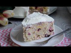Prăjitură mai bună decât înghețata și gata în 15 min / Tort rapid cu plasmă în 15 min - YouTube Torte Recepti, Serbian Recipes, Torte Cake, Special Recipes, Desert Recipes, Relleno, No Bake Cake, Vanilla Cake, Baking Recipes
