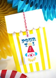 Étiquettes cadeaux thème anniversaire cirque Carnival Booths, Carnival Tickets, Circus Carnival Party, Carnival Birthday Parties, Vintage Carnival, Birthday Party Themes, Party Icon, Party Kit, Party Ideas