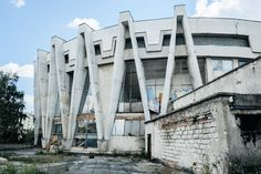The Chisinau Circus was constructed in 1981 by S. Shoikhet and A. Kirichenko in Moldova. In 2008 the it was leased out to a Cypriot company for a period of 29 years. The company pledged to restore the building, but did not honor its obligations and the contract was annulled in 2011.