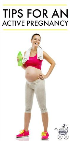 Great tips for an active pregnancy!