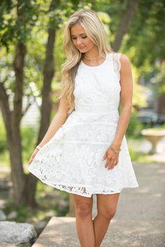 Legendary Loveliness Dress White