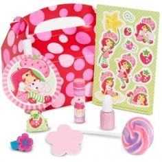 Strawberry Shortcake Party Favor Box