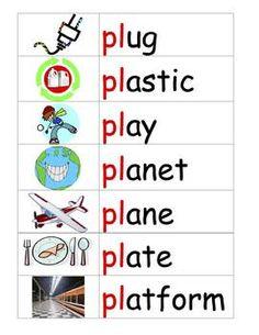 free - Blends Worksheets - Consonant Cluster : cl   Blends and ...