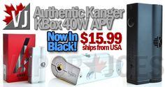 CRAZY LOW!!! – Authentic Kanger KBox 40W APV – $15.99 from USA!