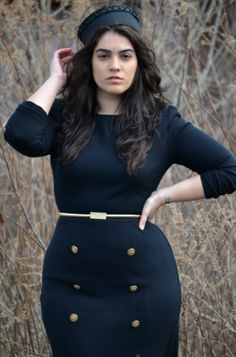Nadia Aboulhosn plus size ladies with style