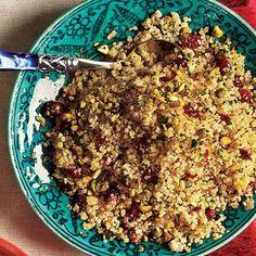 quinoa met pistachenoten