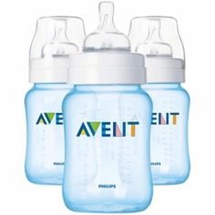 Bottle feeding - Infant: BPA free bottles.  LOVE this brand!  Best bottles ever, hands down. (9oz - $22 for 3pk)