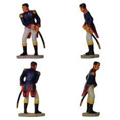 """Capitán Daoiz - Jefe de artillería de Monteleón - 1808 (Colección """"Soldados de la Guerra de Independencia 1808"""" - Salvat)"""