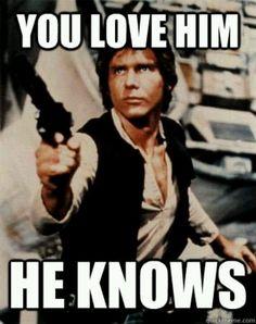 Han Solo. XD