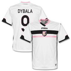 ce4b72b47 Joma Palermo Away Dybala Shirt 2014 2015 (Fan Style Palermo Away Dybala  Shirt 2014 2015