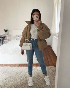 Trendy Fall Outfits, Casual Winter Outfits, Winter Fashion Outfits, Look Fashion, Stylish Outfits, Uni Fashion, Casual Weekend Outfit, Winter Outfits Women, Looks Chic
