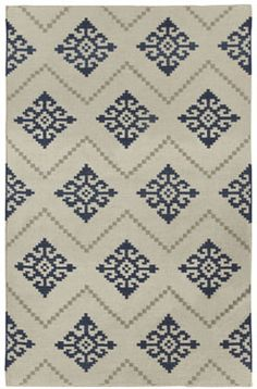 Love navy? This might be the rug for you! The Sno rug in bokrum blue #capelrugs