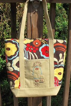 Easy teacher tote bag
