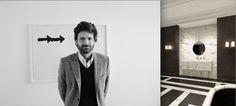 AD Intérieurs 2012. la salle de bains de maharadjah de Joseph Dirand pour Louis Vuitton.