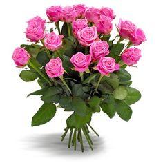 boeket charmente cerisekleurige rozen