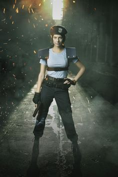 Jill Valentine is based on actress Julia Voth, who decided to bring the game to life with this awesome cosplay.