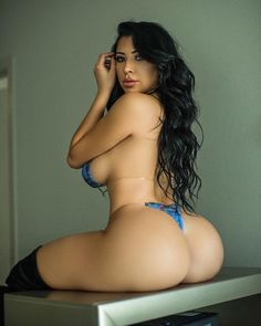Perfect naked wet ass
