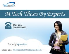 When a student starts his/her M.tech degree, the first question arises in his/her mind that from where he should take M.tech #thesis help for his M.tech thesis. Thesis is the most important and also most difficult part of a scholar's #Mtech as it requires a lot of research to be done by the student.... #ThesisGuide