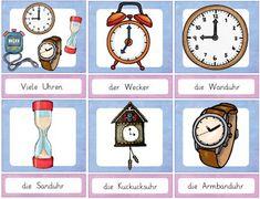 Zaubereinmaleins - DesignBlog                                                                                                                                                                                 Mehr Primary School, Pre School, Busy Book, Preschool Learning, Kindergarten, Homeschool, German, Clock, Teacher