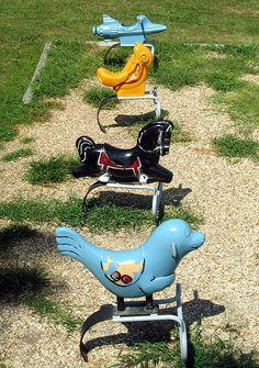 1970s playground equipment